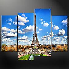 Parigi Torre Eiffel Tela Parete Arte Foto Stampa Taglie Grandi Disponibili