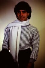Handsome Young Man Scarve Straight Out Of The 1980's 35mm Slide B26