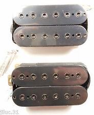 Neuf Set Humbuckers 4 fils - 7k/15k - black -  pour guitare HH
