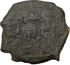 Justin II & Queen Sophia 565AD  Ancient Medieval Byzantine Coin Large K  i36149