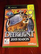 Cabela's Deer Hunt 2005 Season Xbox Game