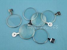 1x Trial lens Optical lens for trial lens set Metal rim DIA 38mm
