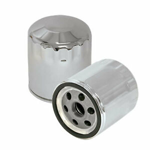 OIL FILTER S&S HARLEY DAVIDSON 1999 - UP TWINCAM & S&S X-WEDGE, CHROME
