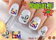"Nail Art #541 Image ""Emc2 Einstein Science"" WaterSlide Nail Decals Transfers"