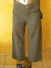 pantalon toile de chanvre KANABEACH BIOLOGIK sandsnow T 36 NEUF ÉTIQUETTE