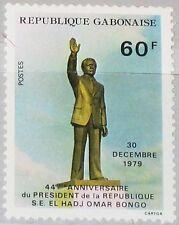 Rapatrié Gabon 1979 719 439 président Omar Bongo re-election reconnul MNH