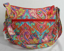 Vera Bradley Women Purse Bag Handbag on the go Crossbody PAISLEY IN PARADISE new