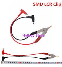Cable Alligator CLIP for SMD Capacitor Cap ESR Meter DMM M6013 MESR-100 M4070