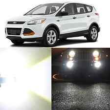 Alla Lighting Fog Light 9145 6000K Super White LED Bulbs for 2013~17 Ford Escape