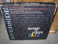 RIVERSIDE / VARIOUS history of classic jazz ( jazz ) 5lp box set - booklet -