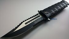 "9"" TAC FORCE TACTICAL SPRING ASSISTED FOLDING KNIFE Blade pocket open switch"