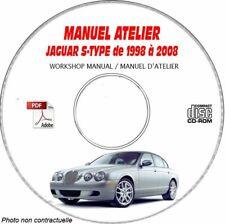 S-Type 98-08 - Manuel Atelier CDROM JAGUAR Anglais Expédition - --, Support - C