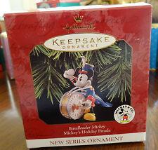 Hallmark Keepsake Ornament Mickeys Holiday Parade Band Leader Mickey Mib