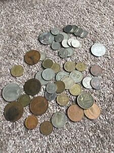 Foreign Coin Joblot
