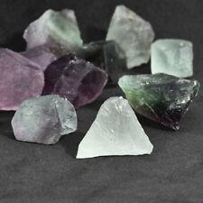 Exquisite Natural Fluorite Quartz Crystal Stones Rough Polished Gravel Specimen