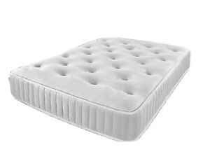 Memory sprung mattress Memory mattress single double king mattress 3FT 4FT6 5FT