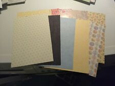 10X BEAUTIFUL PAPERS/FOR MAKE CRAFTS 21X15 CM NEW/ (A32)