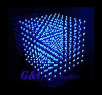 3D LightSquared DIY Kit 8x8x8 3mm LED Cube Blue Ray LED M114