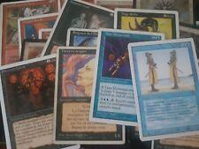 Lot de 10 vieilles cartes Magic rares ! - Rare Magic Mtg old cards lot - Design