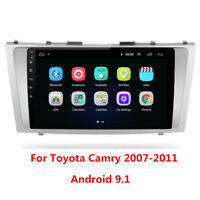 9'' Android 9.1 For Toyota Camry 2007-11 Car Radio Stereo Player GPS Navigation