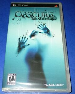 Obscure: The Aftermath Sony PSP *Factory Sealed! *Free Shipping!