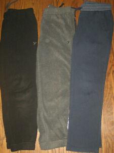 lot boys 10-12 Husky activewear pants Old Navy active jogger sweatpants fleece