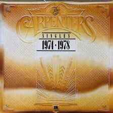 CARPENTERS -  Singles 1974-1978 (LP) (VG/VG)