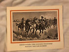 COMPLETE - Portfolio of Six Western Prints by Frederic Remington - Wild West Art
