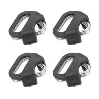 4x Camera Strap Triangle Split Ring Adapter+Cap for Fuji Lecia Nikon Canon Sony