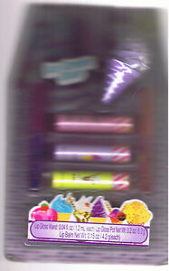 Just 4 Girls Ice Cream Shop 6 Pc Lip Balm Gloss Choose For Purple Cone Popscicle