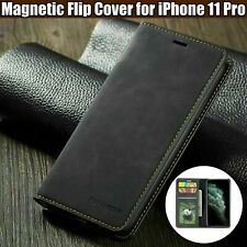 For iPhone 11 Pro Phone Luxury Leather Flip Card Wallet iPhone 11 case Cover