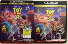DISNEY PIXAR TOY STORY 4 4K ULTRA HD BLU RAY 3 DISC SET + SLIPCOVER SLEEVE BUYIT