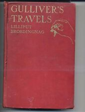 Gullivers Travels Lilliput Brobdingnag Jonathan Swift 1930 HC Seventh Impression
