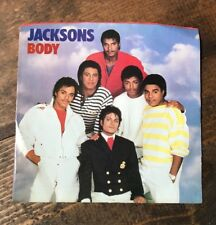 Jacksons-Body-45 RPM Record-Instrumental-Epic Records-Michael Jackson-Promo-1984
