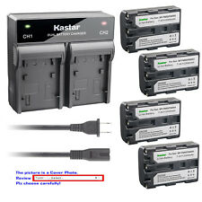 Kastar Battery AC Rapid Charger for Sony NP-FM50 Sony Cyber-shot DSC-F828 DSC-R1