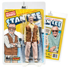Official  Stan Lee Retro 8 inch Action Figure: Brown Vest Version by FTC