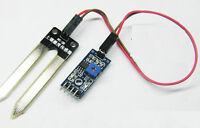 2PCS Soil Hygrometer Moisture Water Sensor Detection Module for Arduino KY 2017