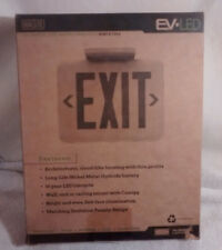 New in box, Dual-Lite LED RED Exit Sign, Eve Series - EVEURWEI - Fast Shipping