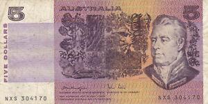 Australia 5 Dollars, banknote !!!
