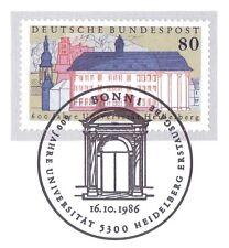 BRD 1986: Universität Heidelberg Nr 1299 mit dem Bonner Sonderstempel! 1A! 157