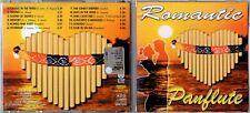 Romantic Panflute CD Fonotecnica Dischi CD 2001/23 * Flauto di Pan