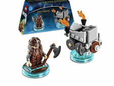 Lego Dimensions - Gimli & Axe Chariot, Fun Pack 71220, Lord of the Rings NEW