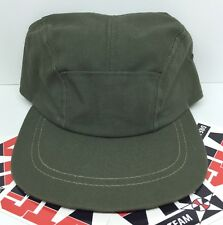 Vintage J. CREW Military Army Cap Hat Mens Size Medium Textile Workers  Union USA f9e9fc72fa4b