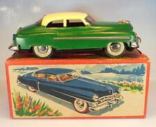 Giappone lamiera TIN TOY Cadillac verde precoce 50er anni con O-Box #924