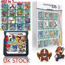482 in 1 Game Cartridge for NDS NDSL 2DS 3DS 3DSLL NDSI Video Game Super Mario