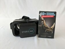 4D+Dinosaur Experience Augmented Reality Cards + Utopia Virtual Reality Headset