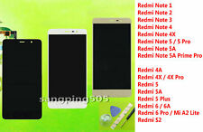 -LCD Display Touch Screen Assembly Xiaomi Redmi 4 5 6 S2 / Note 1 2 3 4 5 Series