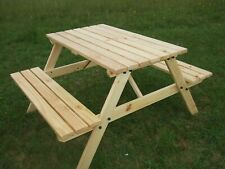 Pleasant Handmade Pine Garden Chairs Swings Benches For Sale Ebay Ncnpc Chair Design For Home Ncnpcorg