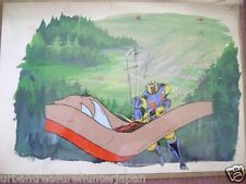 MAGNE ROBO GAKEEN ANIME PRODUCTION CEL AND BACKGROUND