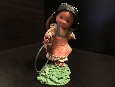 """Friends of the Feather """"Hoops and Sticks Make Six� resin figurine"""